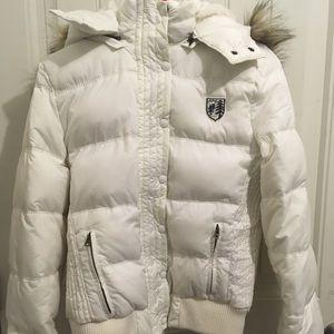 American Eagle Down Filled Puffer Jacket Women's L